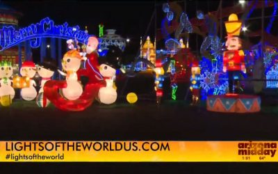 Take the family to see Lights of The World this holiday season!